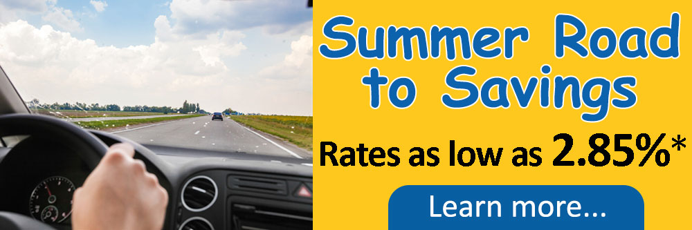 Summer road to savings rates as low as 2.85%